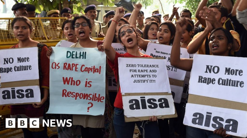 India outcry after eight-month-old baby raped - BBC News