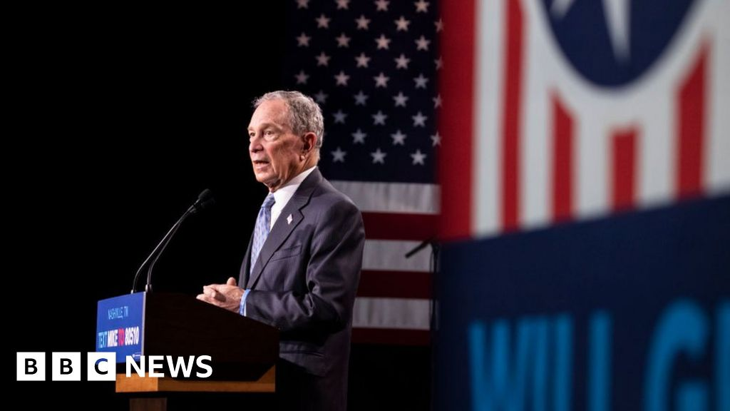Us Election 2020 Rivals Attack Bloomberg Before Tv Debate Bbc News