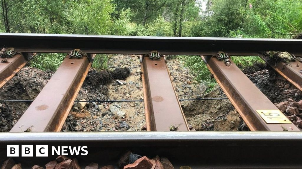 Damaged track