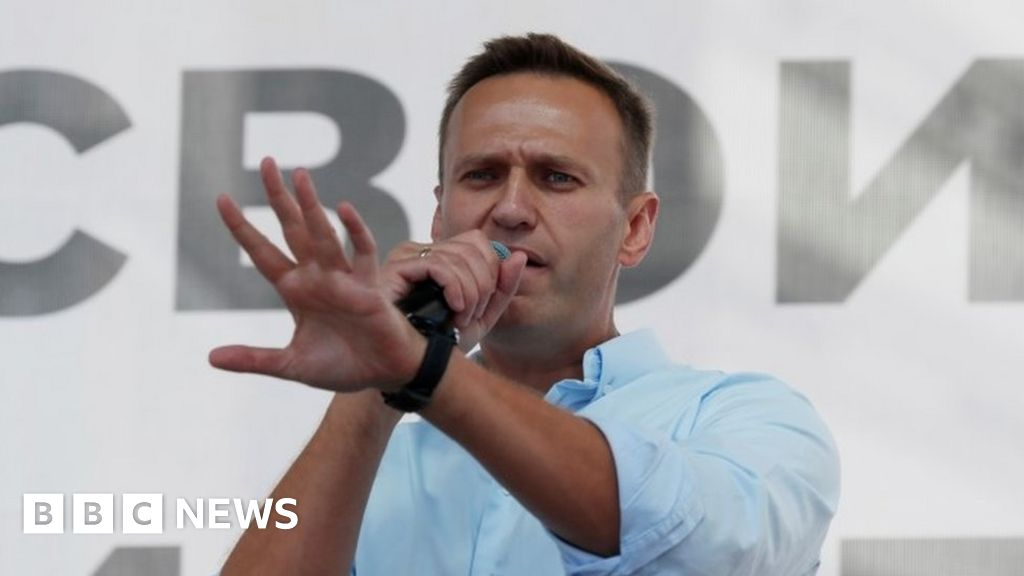 Alexei Navalny: Russian doctors agree to let Putin critic go to Germany