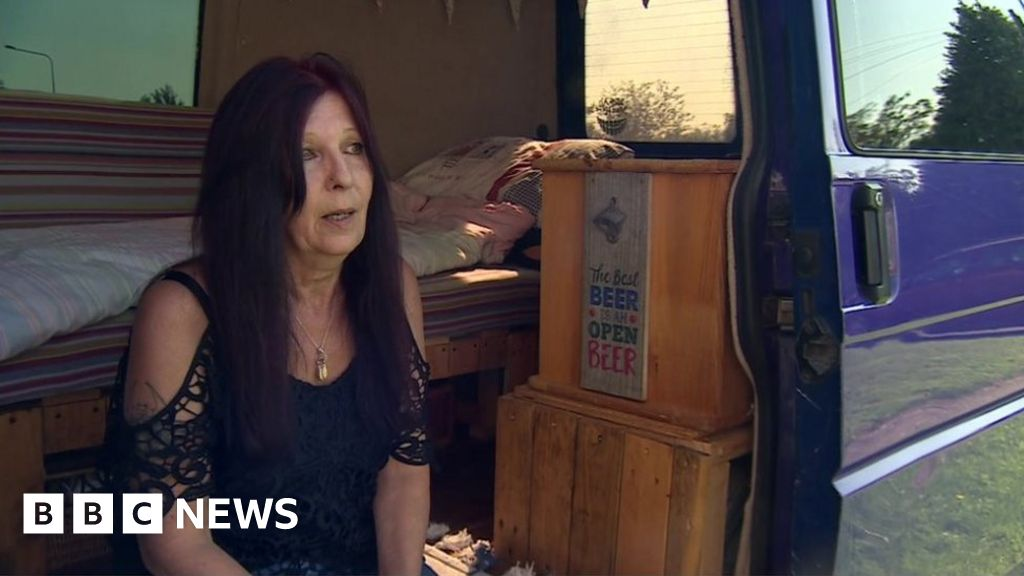 Housing crisis: The 59-year-old woman who lives in a van