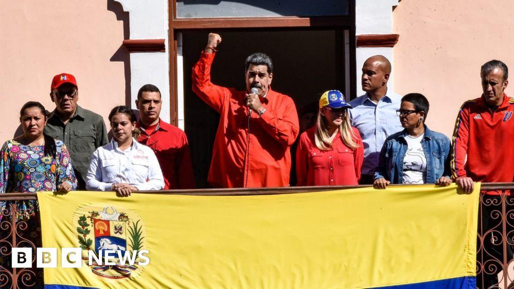 Nicolás Maduro: US charges Venezuelan president with 'narco-terrorism'