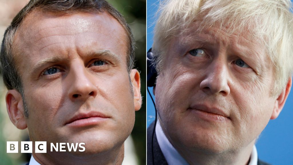 Backstop hopes downplayed as Johnson meets Macron thumbnail