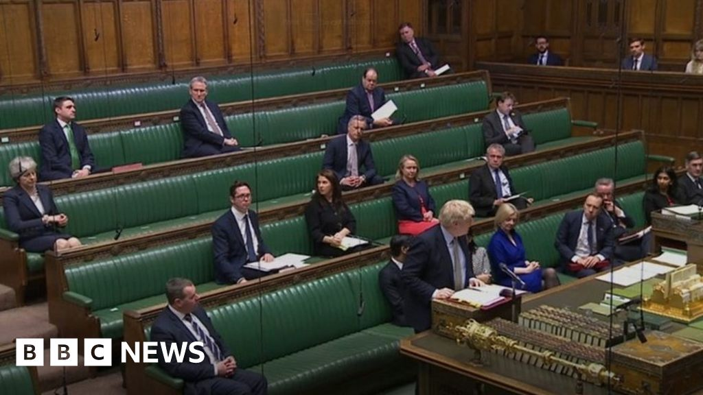 Coronavirus: MPs told to stay out of Commons chamber