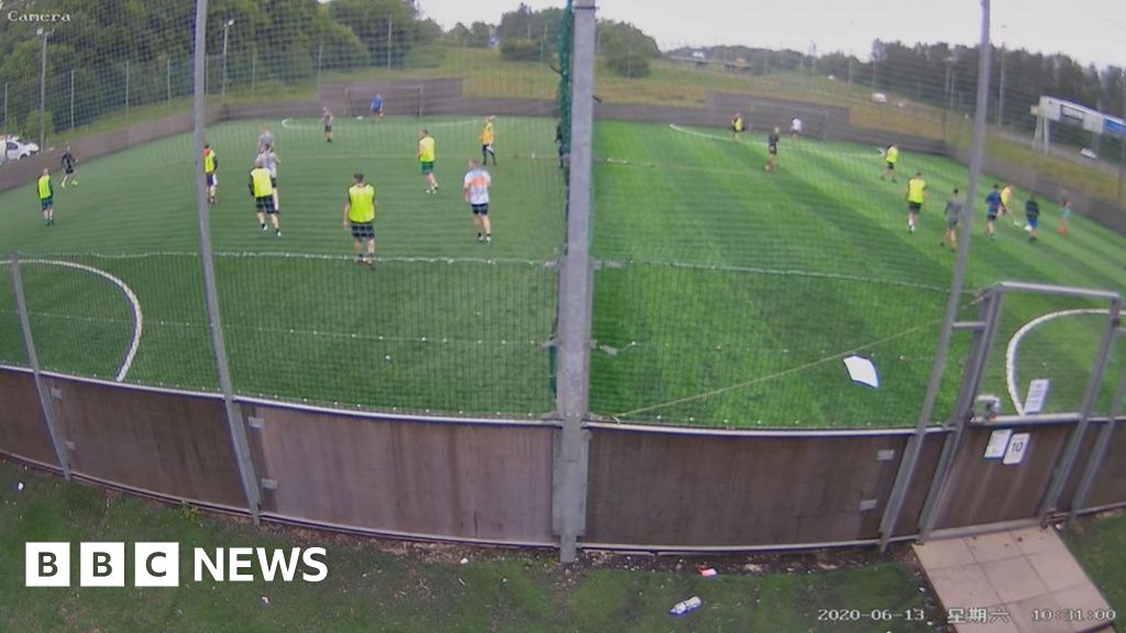 Coronavirus: 'Hundreds' of five-a-side footballers flouting lockdown thumbnail