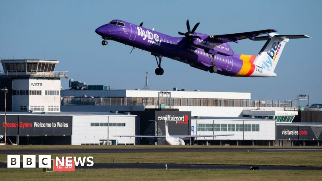 Flybe: Cardiff passengers warned not to go to airport
