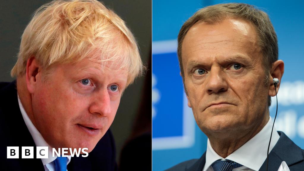 Brexit: Boris Johnson calls for  anti-democratic  backstop to be scrapped