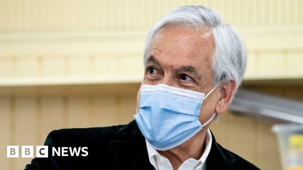 Covid: Chile's president Sebastián Piñera fined $3,500 for no-mask selfie