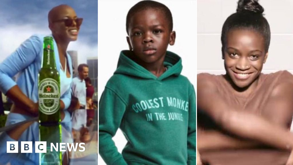 Are adverts deliberately being racist? - BBC News