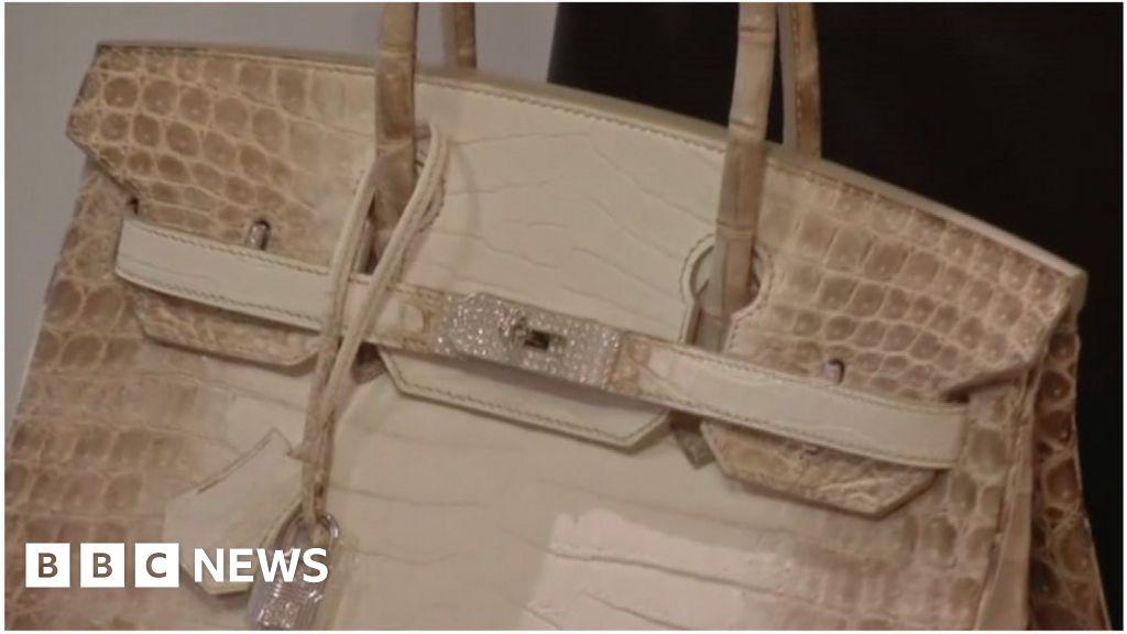 27de6b74ca2e World s most expensive handbag auctioned in Hong Kong - BBC News