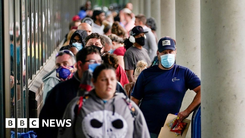 Job growth slows in US as virus cases surge