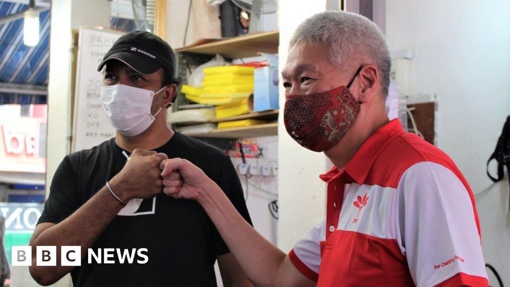 Coronavirus In Singapore Election Campaigning Without The Handshakes Bbc News