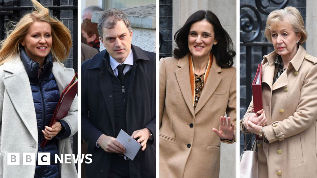 Cabinet reshuffle: Julian Smith and Andrea Leadsom among early casualties