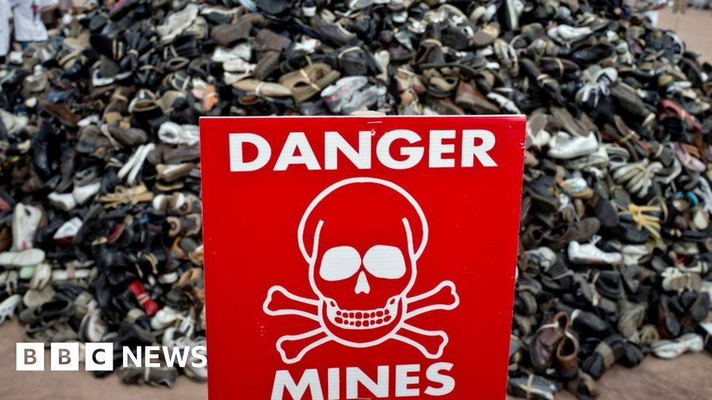 Trump lifts restrictions on US landmine use