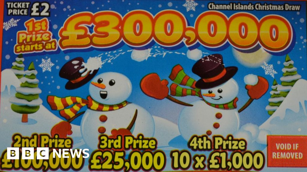 Christmas Lottery Channel Islands
