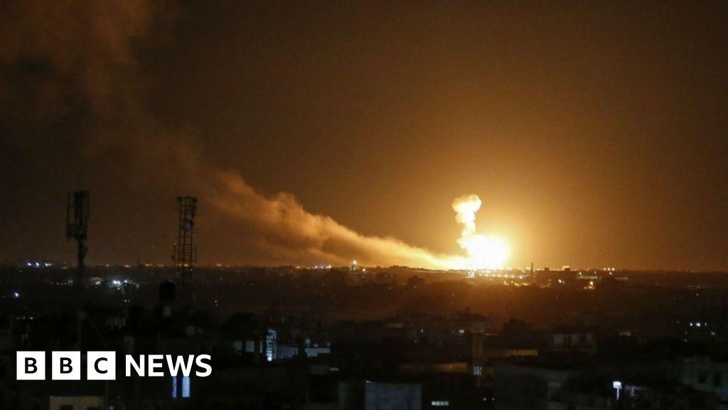 Israel strikes Gaza and Syria after rocket attacks