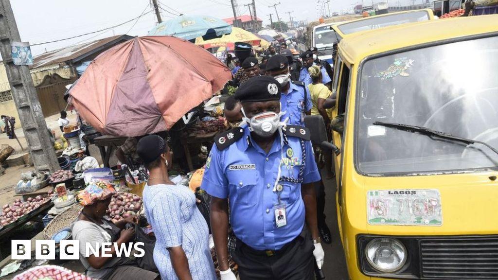Lagos lockdown over coronavirus: 'How will my children survive?'