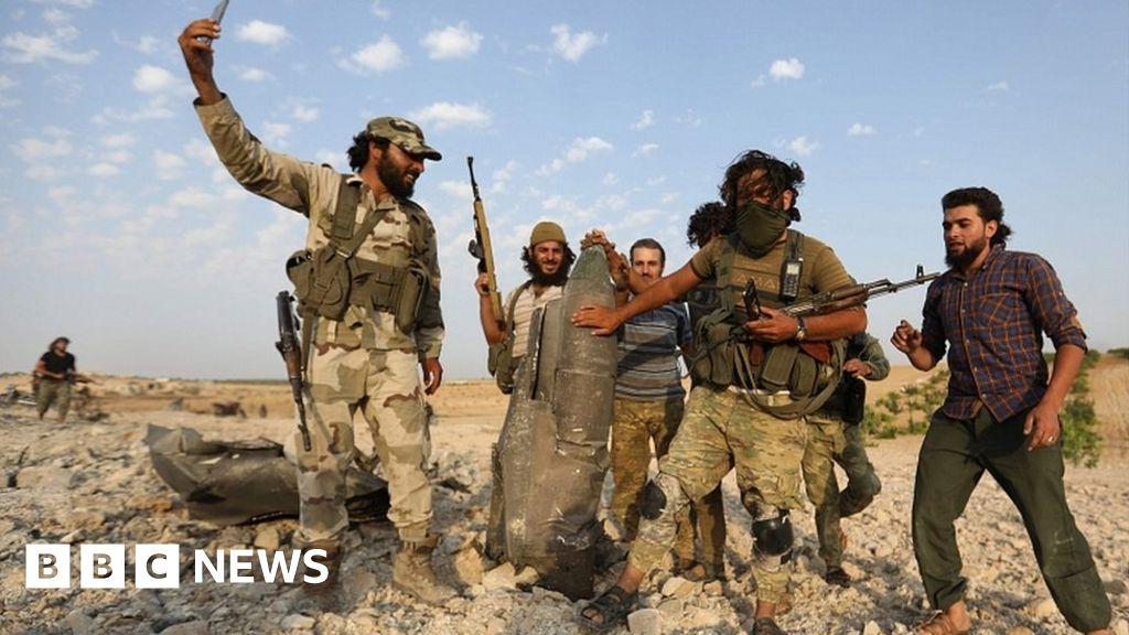 Rebels shoot down Syrian government warplane