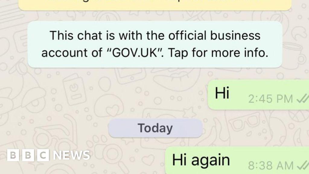 Coronavirus: UK's WhatsApp bot working after false start