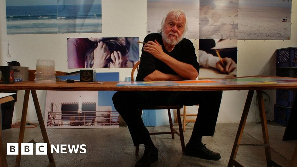 John Baldessari: the artist, The cremated, his own images