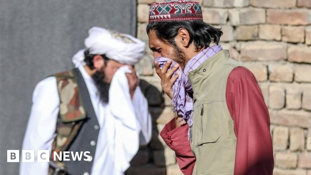 Afghanistan war: Kabul mosque blast shatters calm for Eid
