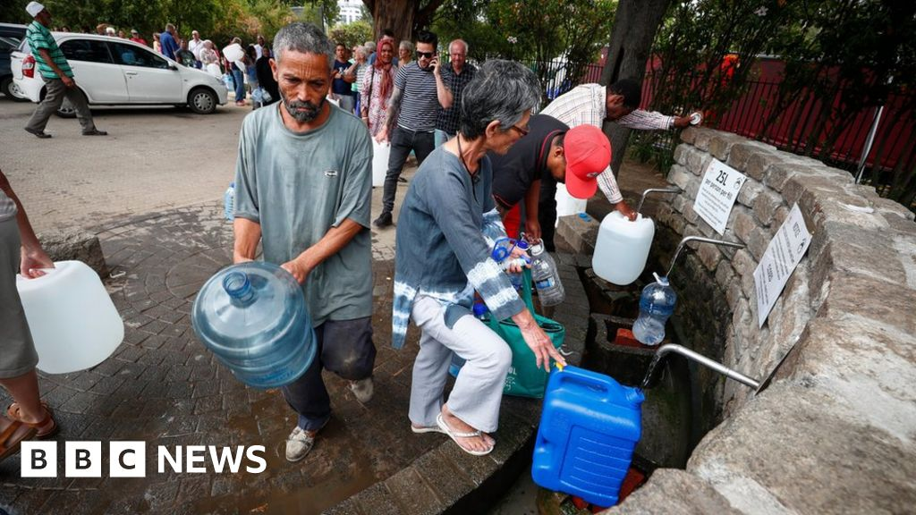 Cape Town water crisis: 'My wife doesn't shower any more'