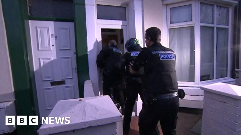 Teesside and South Yorkshire targeted in trafficking raids