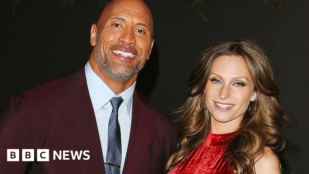 The Rock marries girlfriend Lauren Hashian in Hawaii