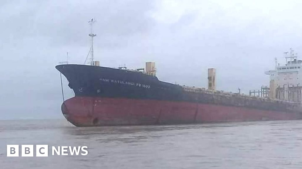 103253162 f8c9a7aa d8bd 4b77 a48c 06121543cf38 -'Ghost ship' runs spherical on Myanmar hover