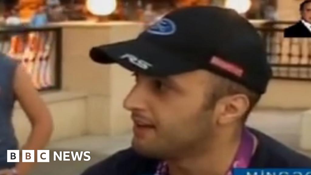 The fake British tourist who 'loves' Azerbaijan