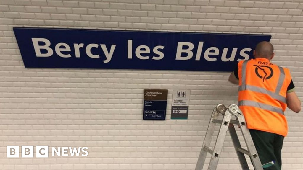 World Cup: Paris renames stations for France heroes' welcome