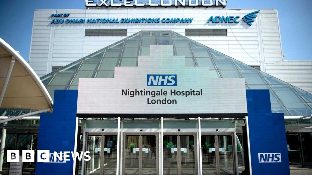 In pictures: NHS Nightingale Hospital London