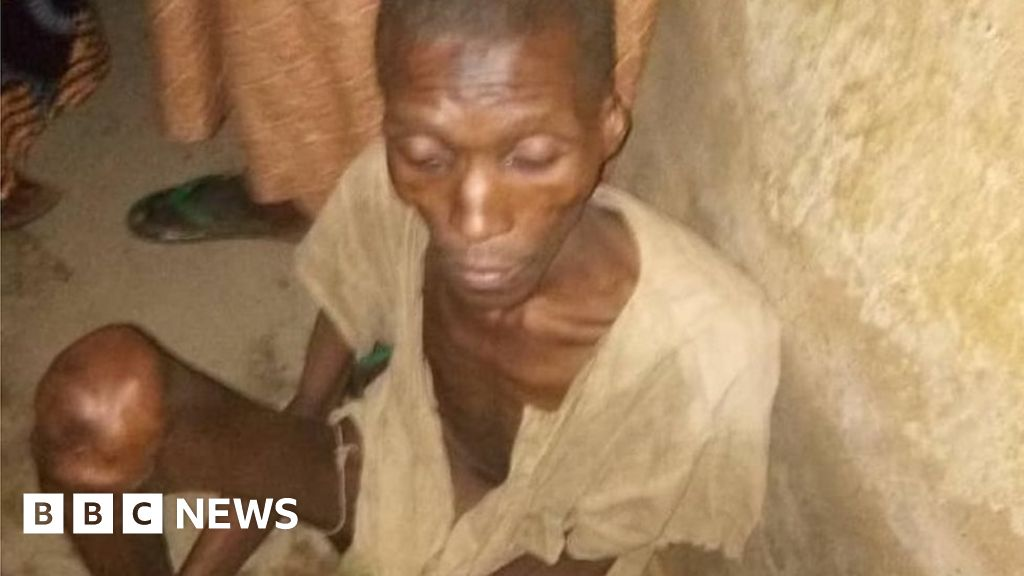 Nigeria man found locked up in his parents' garage