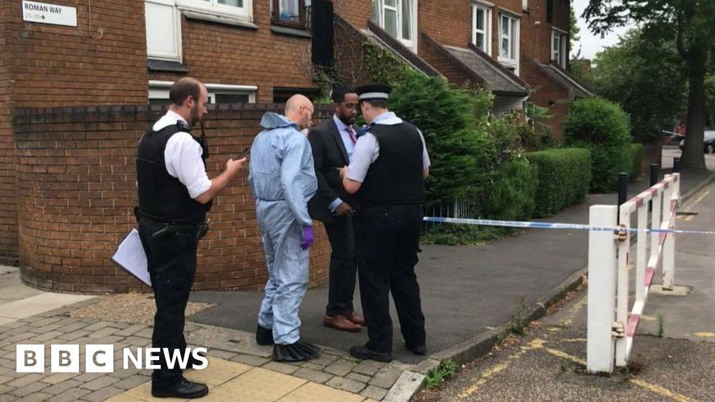 Man shot dead in north London