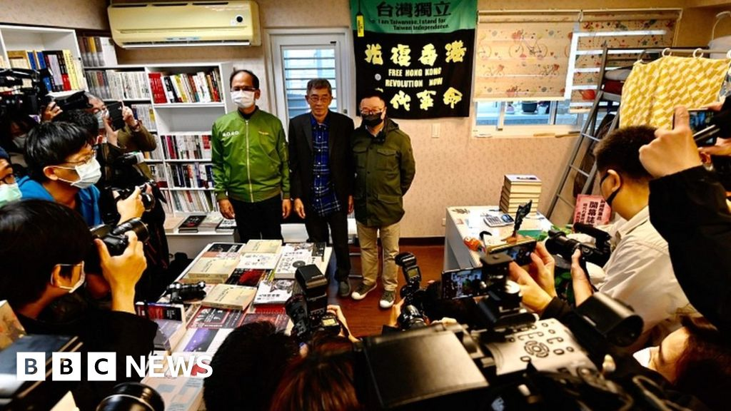 Lam Wing-kee: HK bookseller, defied China opened up shop in Taiwan