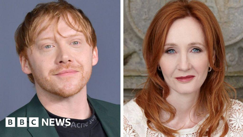 Rupert Grint joins JK Rowling transgender row