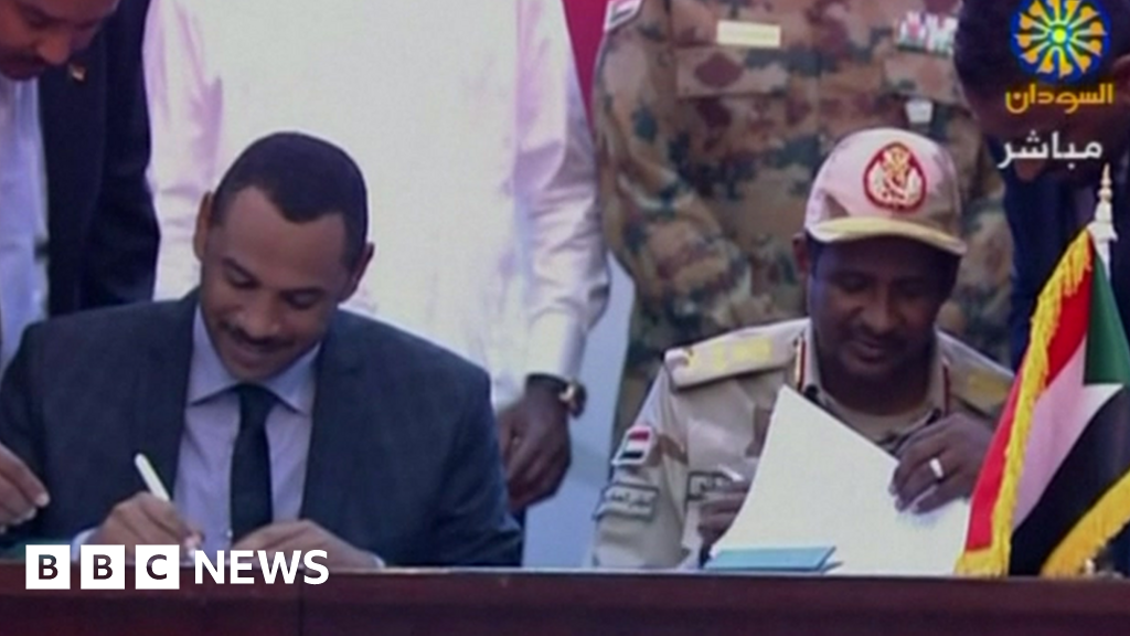Sudan conflict: Army and civilians form sovereign council......