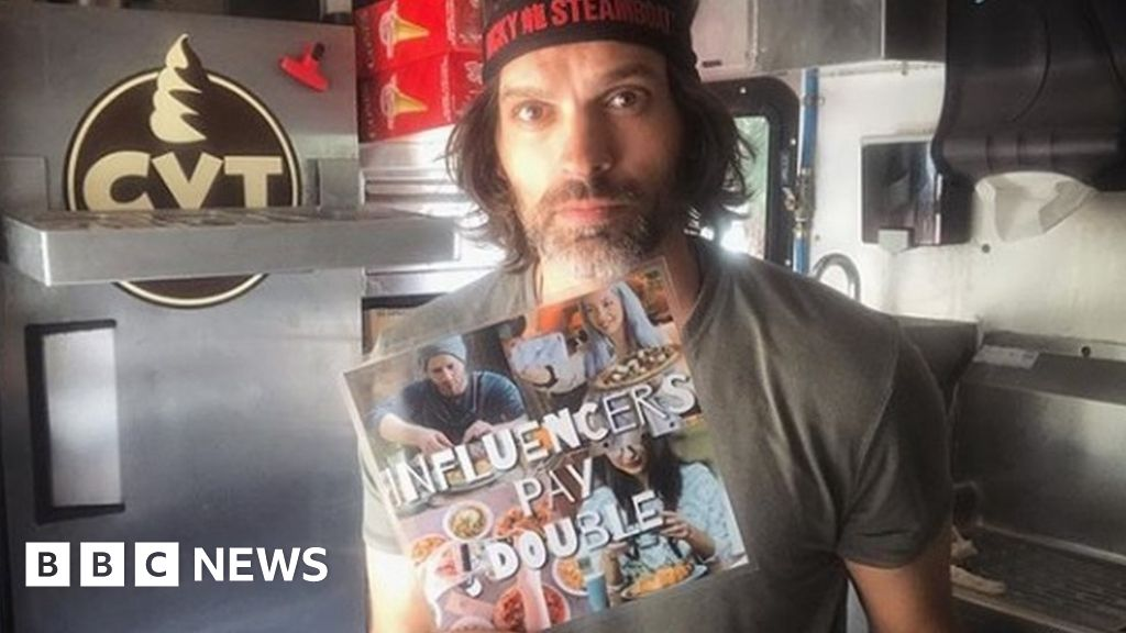 'Influencers pay double': The ice cream truck defying Instagram freebies