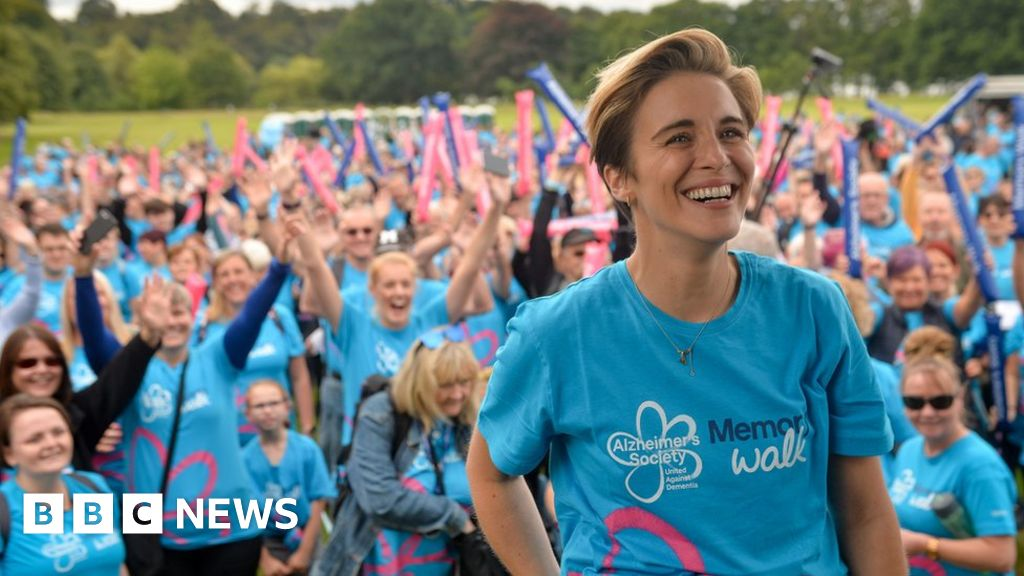 Actress Vicky McClure takes part in Alzheimer's Society Memory Walk