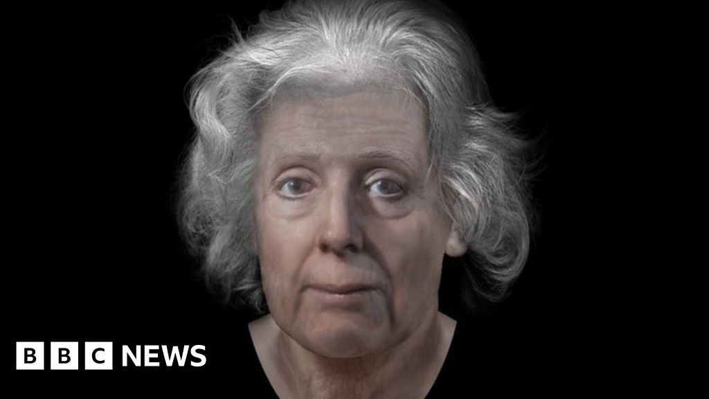 Forensic Artist Reconstructs Face Of Scottish Witch Bbc News
