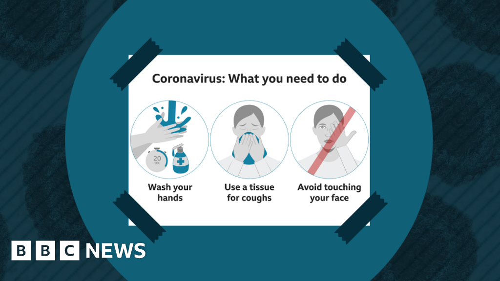 Coronavirus Information Four Posters Bbc News