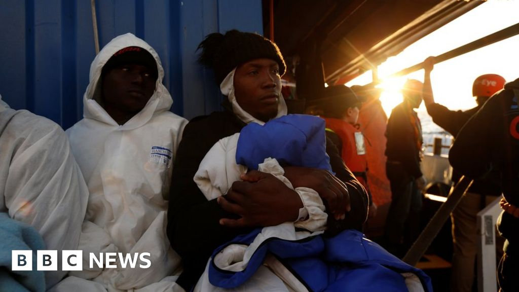 EU takes migrants after stand-off at sea