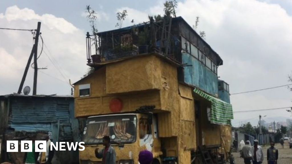 How an Ethiopian built a three bedroom home in a truck thumbnail