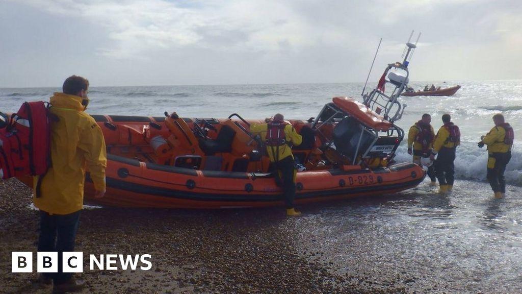 Kitesurfer Dies Hayling Island