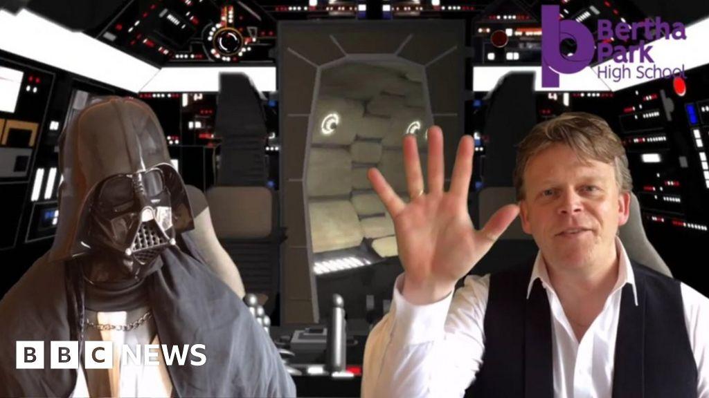 Star Wars school assembly head's Solo performanc thumbnail