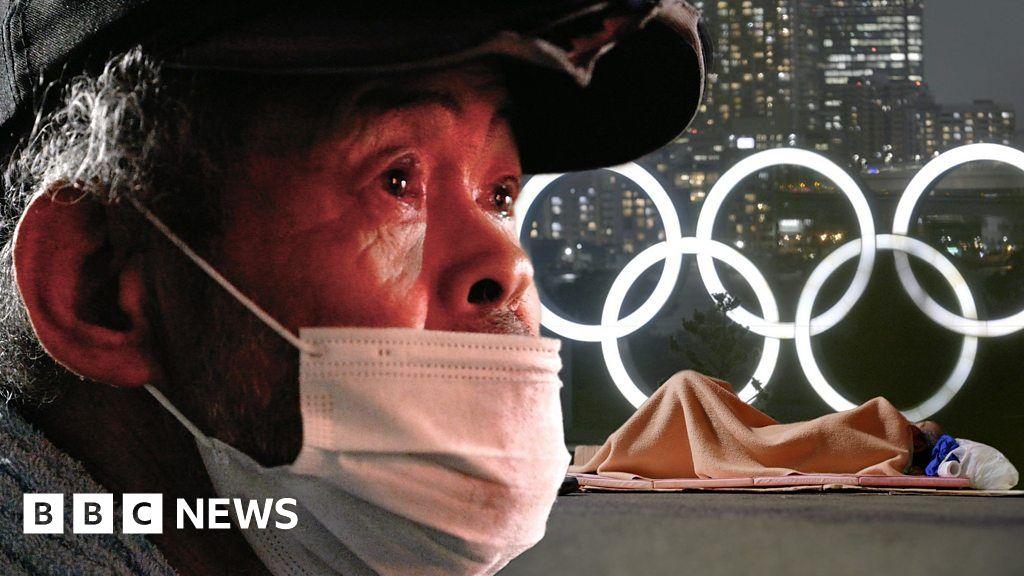 Olympics: The hidden sight of Tokyo's homeless
