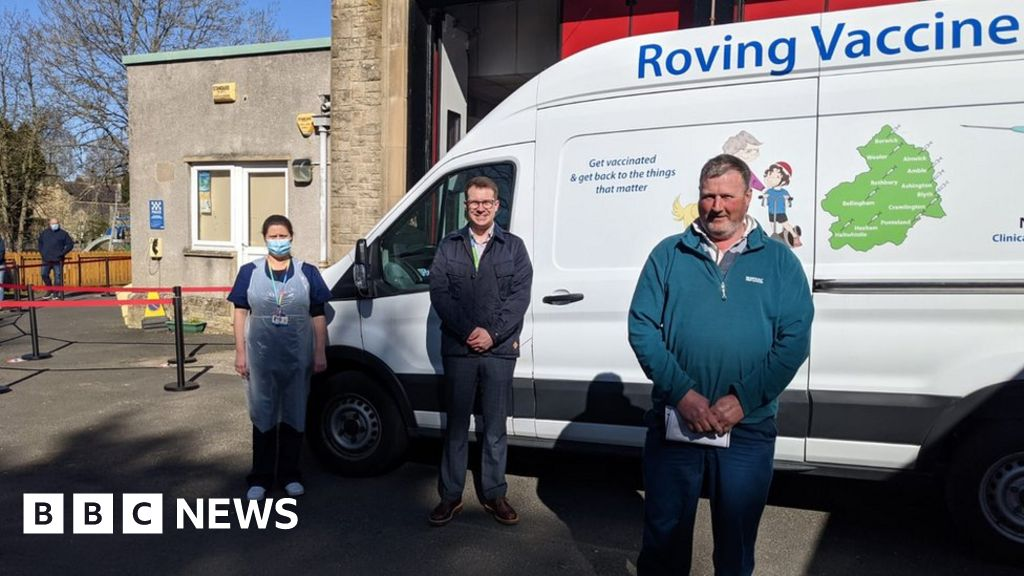 Northumberland roving vaccination service 'so no-one left behind'