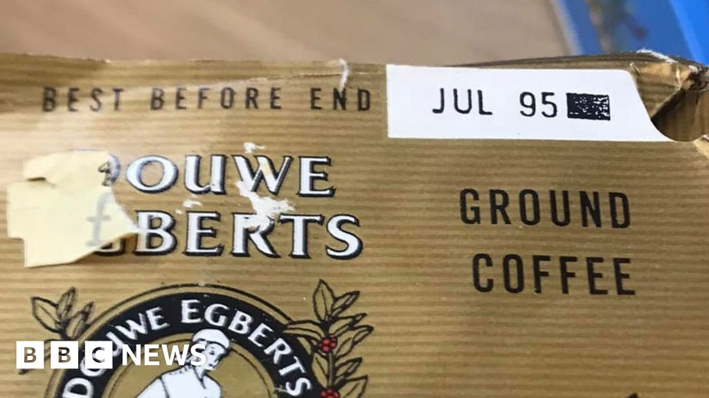 Devon food bank sees 26-year-old coffee packet handed in