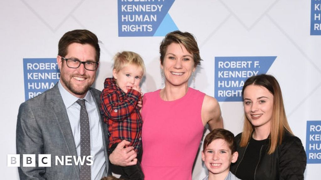 Robert Kennedy's granddaughter and her son missing thumbnail