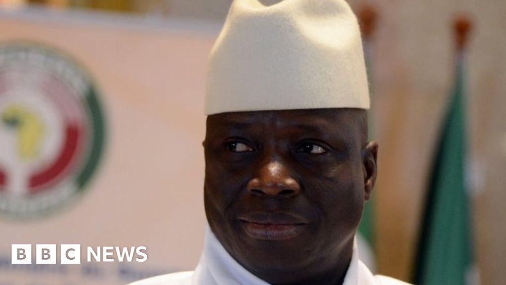 Gambia warns exiled leader not to seek return